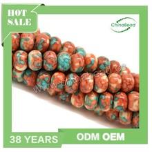 Wholesale natural gemstone, rain flower stone bead, semi-precious stone gem