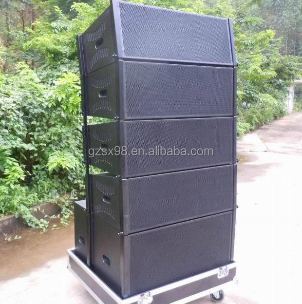 Professional line array speaker system speaker road case for Ukuran box salon 8 inch