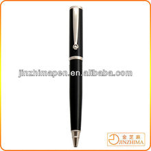 Good quality ballpoint pen business gift metal wheel clip ball pen for promotion
