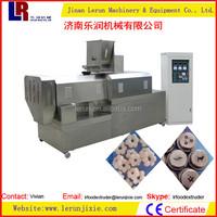 Twin Screw Extruder Puffed Corn Making Machine Jinan Lerun