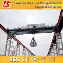 Safety Durable Grab Overhead Crane Used for Garbage Station