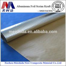 aislamiento de calor de aluminio papel de envoltura de papel fsk