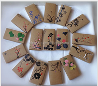 Chinese Style Hand Painted Kraft Paper Wallet Gift Jewelry Boxes