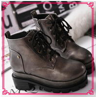 New arrival upper material women shoe italian leather winter boots in 2015