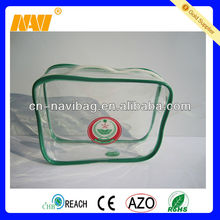 Direct factory manufacture clear pvc bag with UV printing