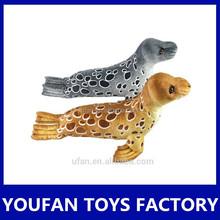 lifelike seal plush toy