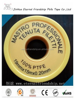 hot water ptfe seal water gas pipe tape for plumbing tools and equipment
