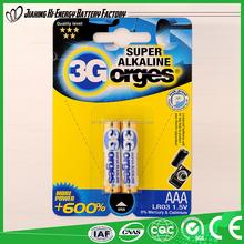 1.5v golden power LR03 aa alkaline battery