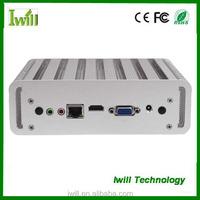 Nano itx core i3 processor 4010U barebone mini pc with 4gb ram