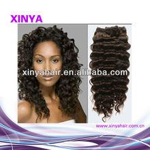 Online most popular goods brown ocean wave Virgin brazilian hair 24 inch