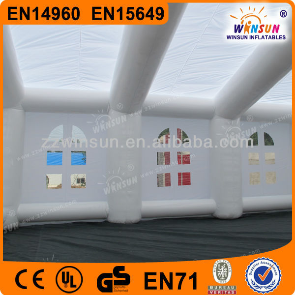 2015 outdoor customized event wedding inflatable tent for party