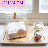 clear plastic cupcake boxes packaging, transparent souvenir plastic packaging box