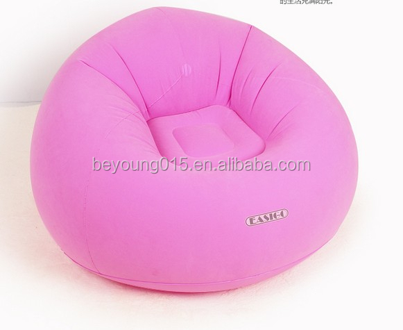 Chairs lazy inflatable chair hot pink inflatable bean bag chairs