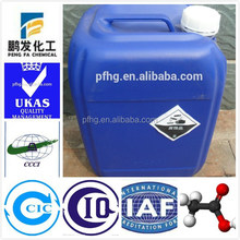 formic acid high quality 98.5% chemical formic acid anhydrous for sale