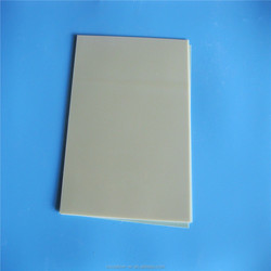 Insulation laminated panel sheet epoxy resin&& fiberglass sheet aqua/yellow/black colors