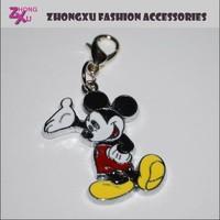 new fashion custom metal enamel mickey mouse charms