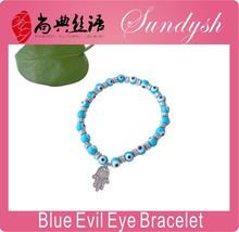 Guangzhou moda de imitación de joyería turca del ojo malvado de la pulsera joyas