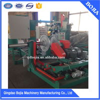 inflatable rubber buffing machine / tyre retreading machine