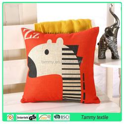 Home Textile Nature Tree Wholesale sofa Pillow Covers Cotton Linen Cushion Cover