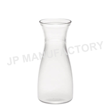 Food grade acrylic clear 16oz small wine carafe