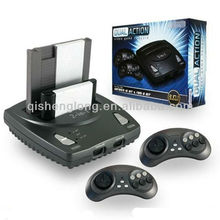 New console,NES+Genesis(FC+SEGA) Dual Action 2-in-1 TV Game Console for US market
