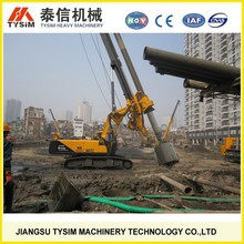 crawler and drilling rig KR125A, rotary piling rig, small drilling machine