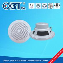 6W 5 inch Waterproof Bathroom Ceiling Speaker for Home Audio