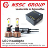Guangzhou LED headlight Factory Wholesale 6000K High Low 2 Sides Chips Universal Car Headlights