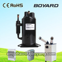 Boyang R410a portable air conditioner rotary air conditioner compressor for Equipment instrument room air conditioning cooler