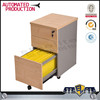 Stylish Wood Filing Cabinet Lock Organizer Storage Rolling Office Paper Work Furniture steel mobile filing cabinets