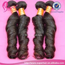 Double loop hair,color #51 remi hair weave,100 virgin peruvian hair