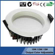 SAA approval downlight White /Nickel/ Chrome brushed 3000k warm white led downlight ceiling lamp holder