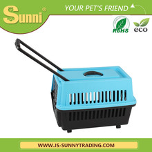 High quality pet carrier with wheels pet cages for dog