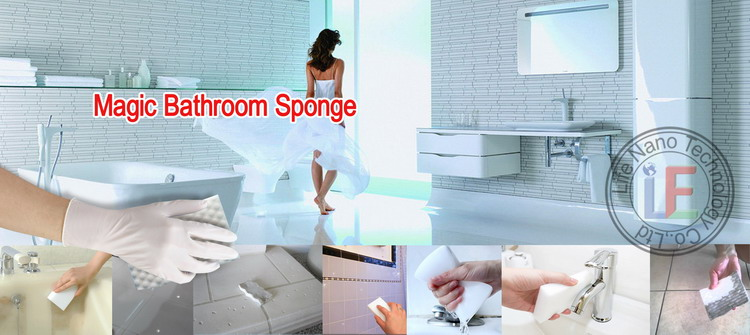 Products Magic Melamine Sponge Best Toilet Brush For Bathroom Cleaning