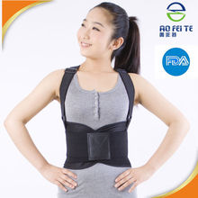 Ebay China website Hot on google high elastic Lower Back lumbar support self belt slimming belly wrap lower waist support with C