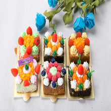 New Wedding return gift Polymer clay lifelike cake with fridge magnet/Yiwu sanqi craft factory
