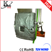 plate heat exchanger thermal insulation jacket/blanket/cover