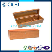 up-market fancy one bottle glossy the wine box in wood with top grade