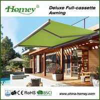 BSCI factory ! eclipse motor control patio pergola shelter for DIY market