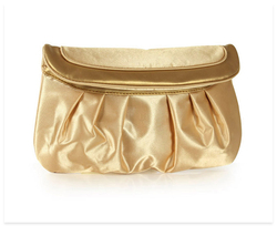 ECO Silk Golden Custom Jewelry Pouch Wallet
