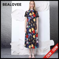 new trendy hotsale long multicolor maxi silk colorful shirt dress pakistani wedding dresses