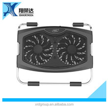 Sharey CE FCC APPROVED electric mini laptop adjustable fan cooling pad for 14 inch cooling pad for notebook