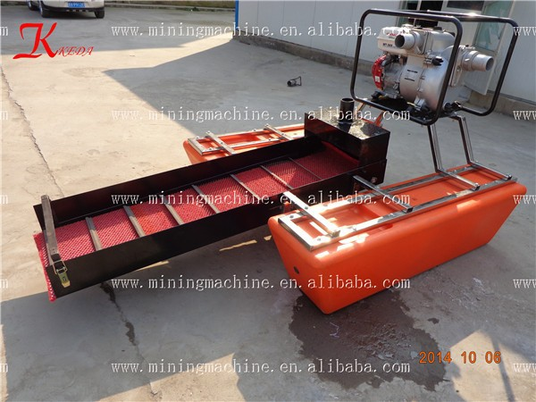 Small Gold Mining Dredges : Small boat portable gold dredge for sale buy