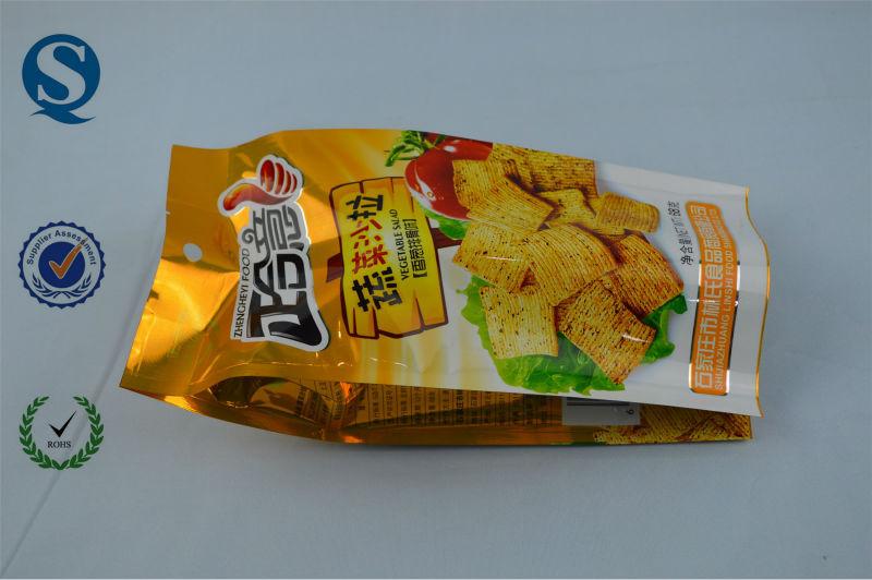 Mode sac plastique d'emballage alimentaire