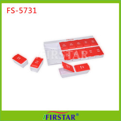 2015 Hot Selling Best Quality Mini 3 times day 7 day pill box