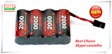 wholesale deep cycle battery EP's 4/5A 4.8v 2000mah rechargeable nimh battery pack airsoft gun and rc model