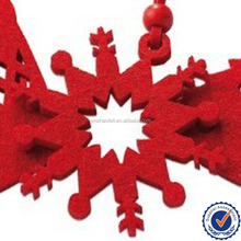 2014 New wool felt christmas Red Christmas tree ,felt patterns large christmas decoration