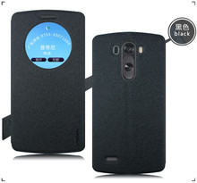 Quick Circle Window Leather Flip Case Cover for LG G4
