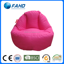 solid rose red triangle modern sofa sofa furniture bean bag chair