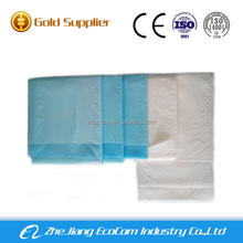 Alibaba china supplier Disposable Adult pad & underpad/under pad/disposable nonwoven bed sheet